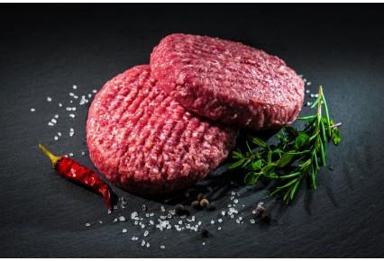 מיני המבורגר הבית - 80 גרם להמבורגר